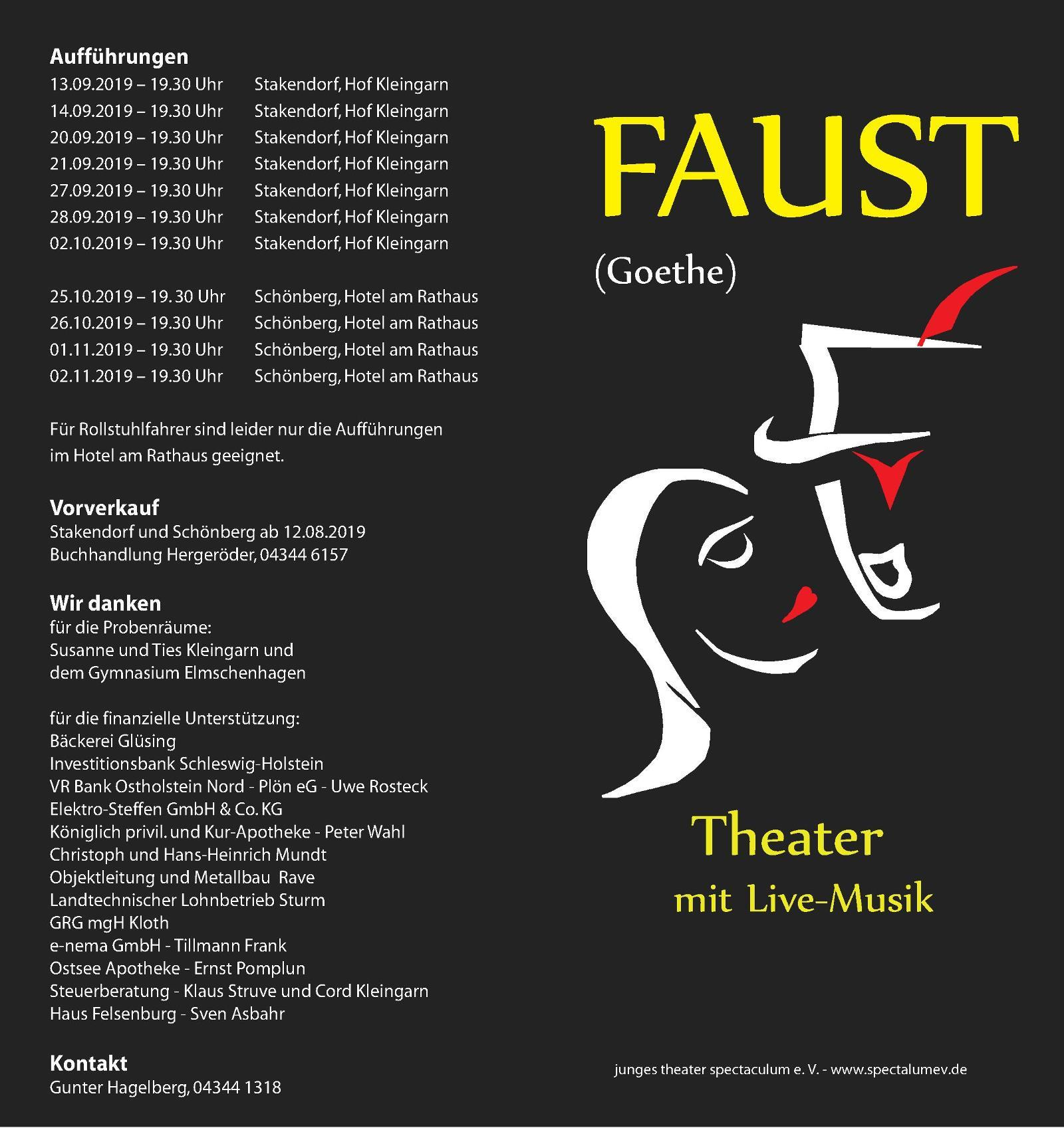Faust-Flyer